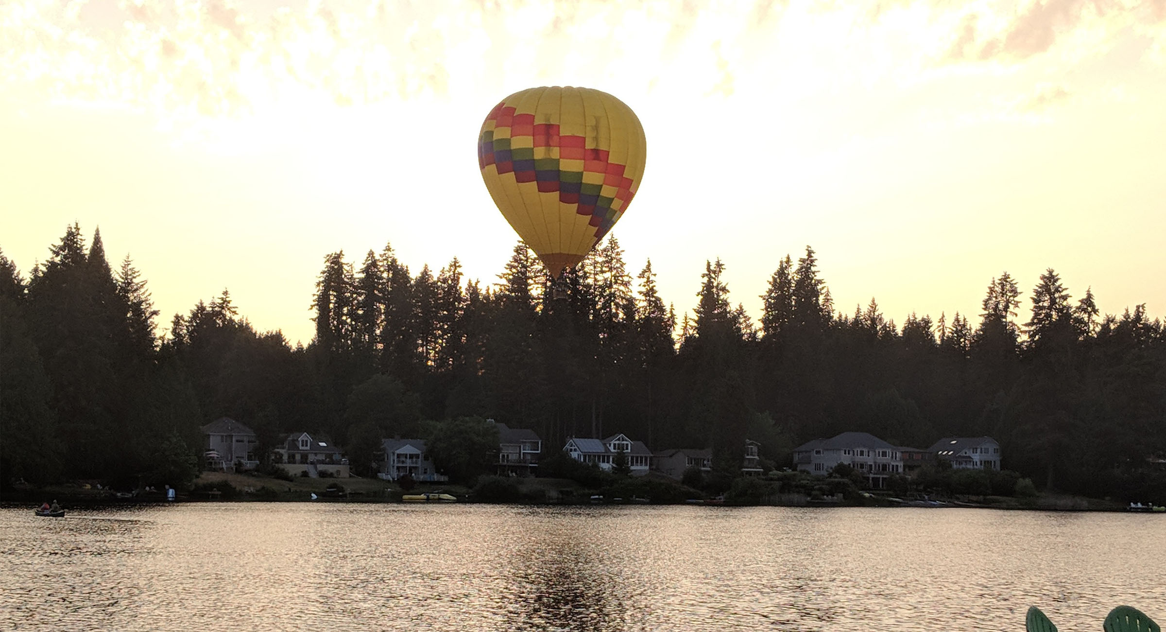 Balloon on Lake